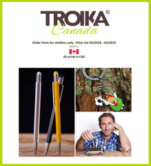 TROIKA Canada order forms