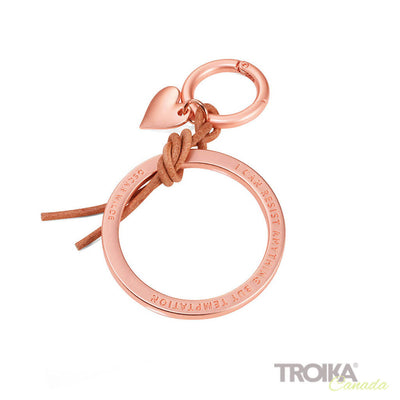 "TROIKA Bag charm ""TEMPTATION"" - gold"