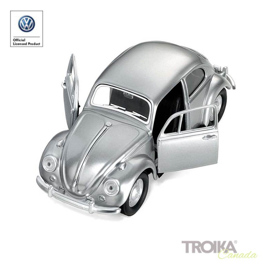 "TROIKA Paper clip holder ""1967 VOLKSWAGEN BEETLE"" - silver"