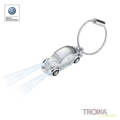 "TROIKA Keychain ""LED LIGHT BEETLE 1964"""