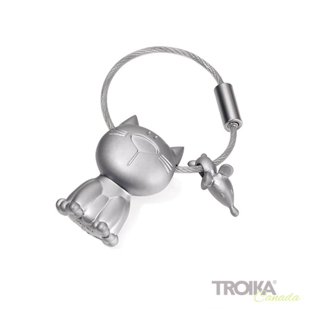 "TROIKA Keychain ""CAT & MOUSE"""