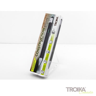 "TROIKA Multitasking ballpoint pen ""CONSTRUCTION SQUARE"" - black"