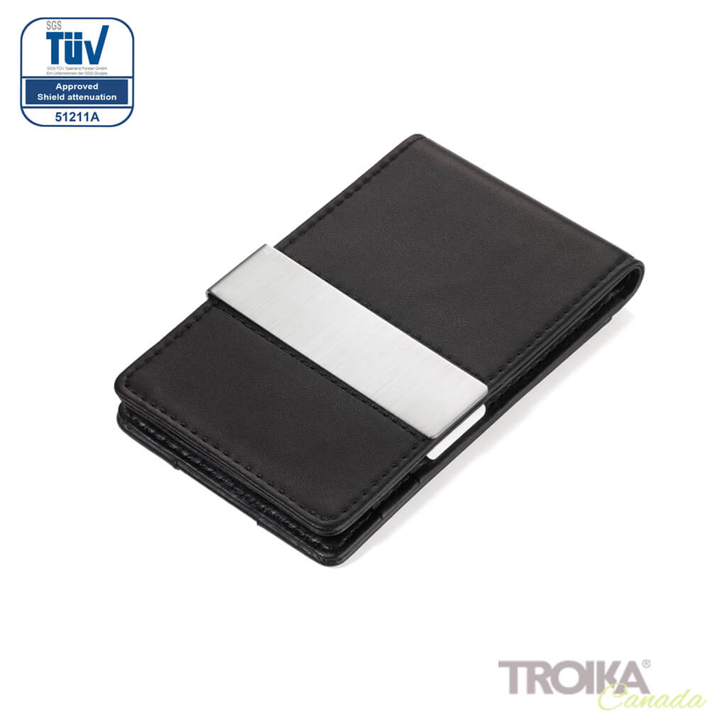 "TROIKA Credit card case ""MIDNIGHT CardSaver"""