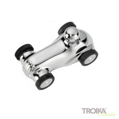 "TROIKA Paper clip holder ""GRAND PRIX 1928"" -silver"