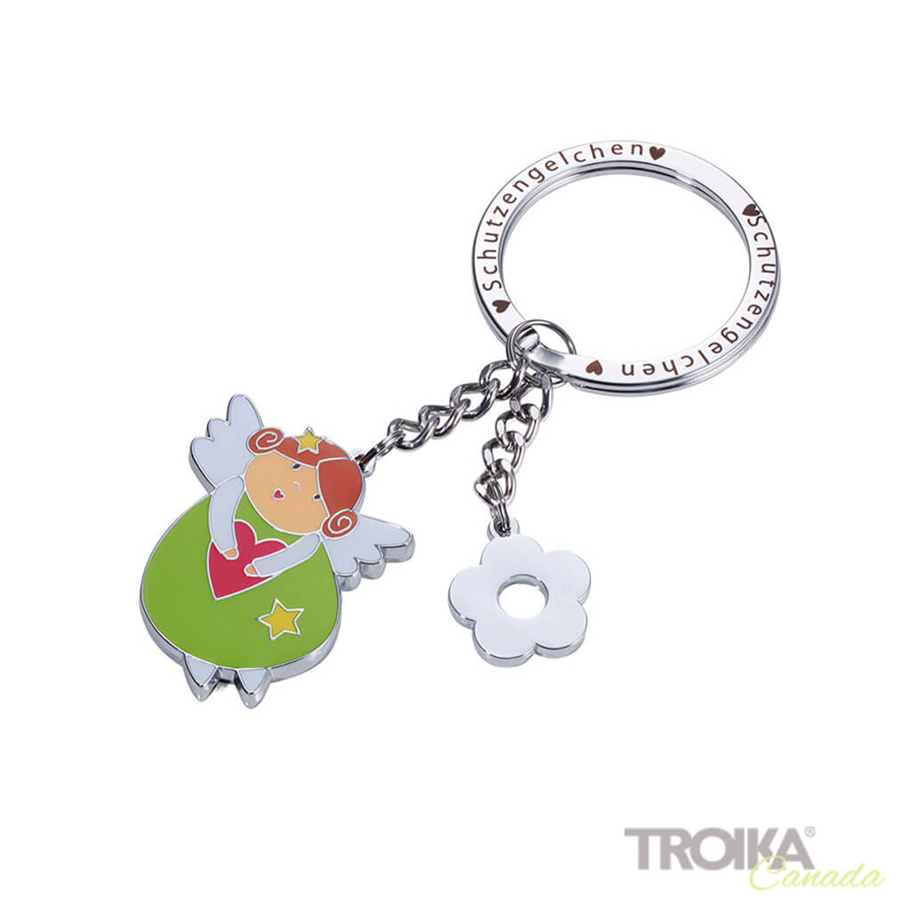 "TROIKA Keychain with 2 charms ""IDA"""