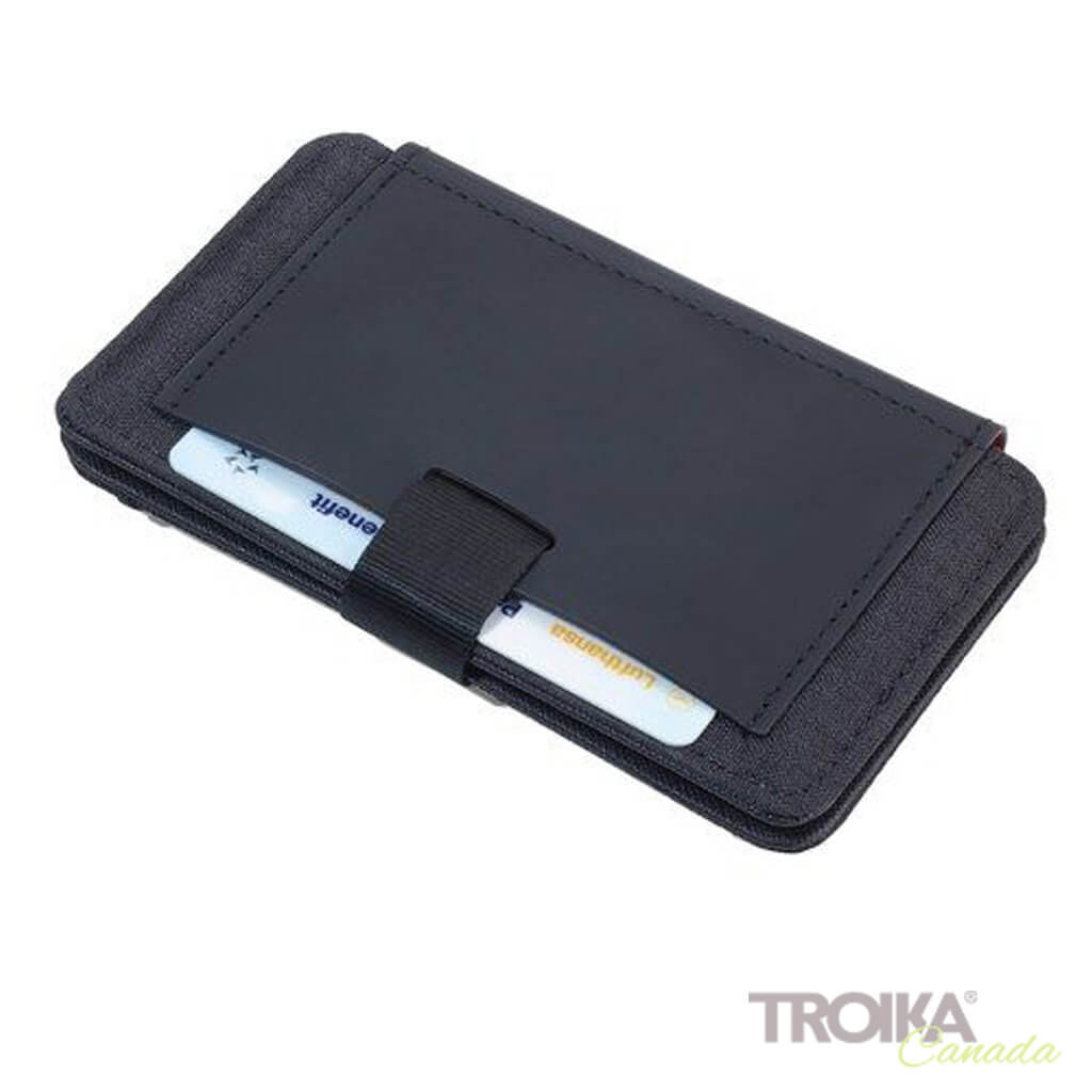 "TROIKA CREDIT CARD CASE ""2-STRAP"""