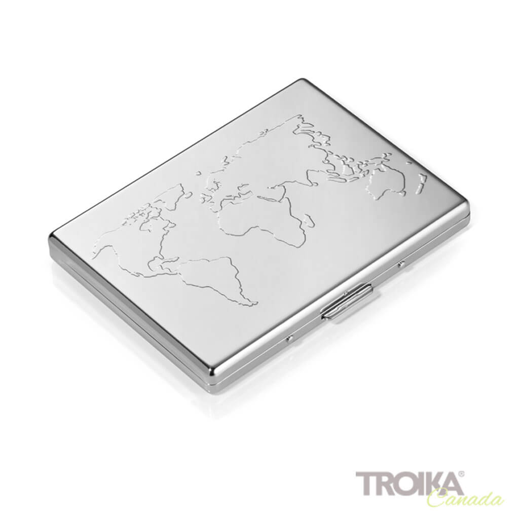 "TROIKA CREDIT CARD CASE ""BUSINESS WORLD"""