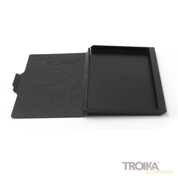 Troika Business Card Case Global Contacts Black
