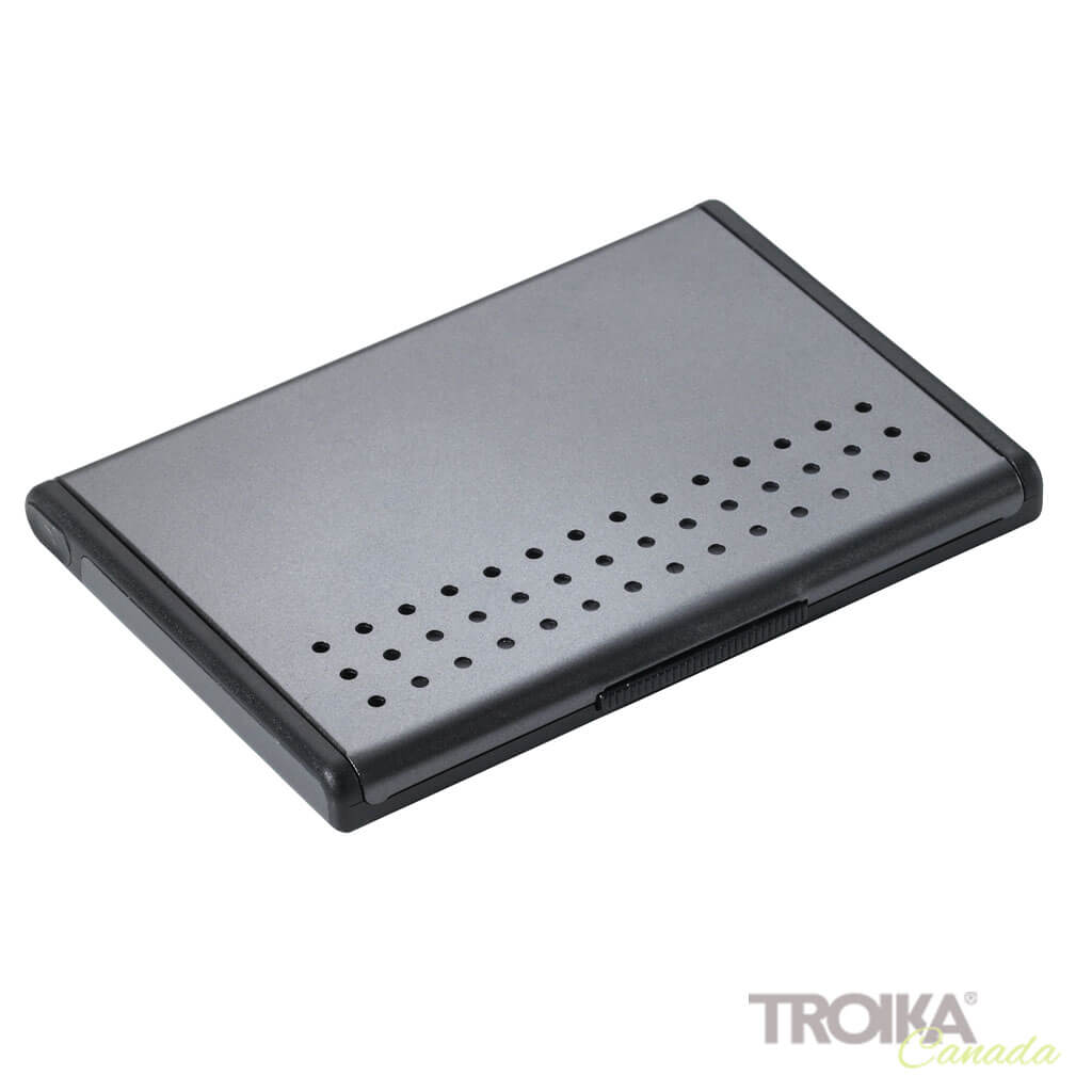 "BUSINESS CARD CASE ""MR. SLOWHAND"" - GREY"