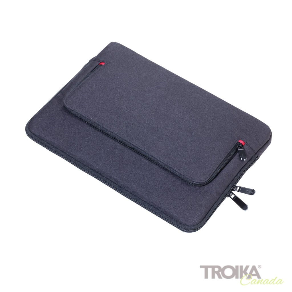 "TROIKA PORTFOLIO BAG ""MON CARRY"" - BLACK"