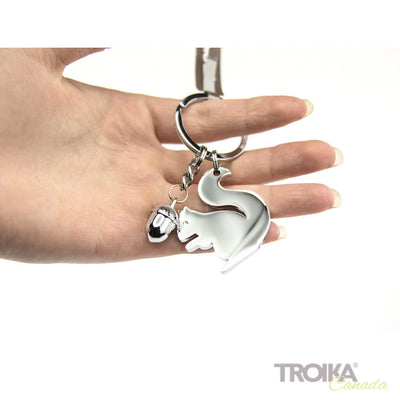 "TROIKA KEYCHAIN ""GIRLS BEST FRIENDS ""SQUIRREL"""