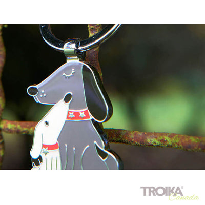 "TROIKA Keyring ""DOG & DOGGY"""