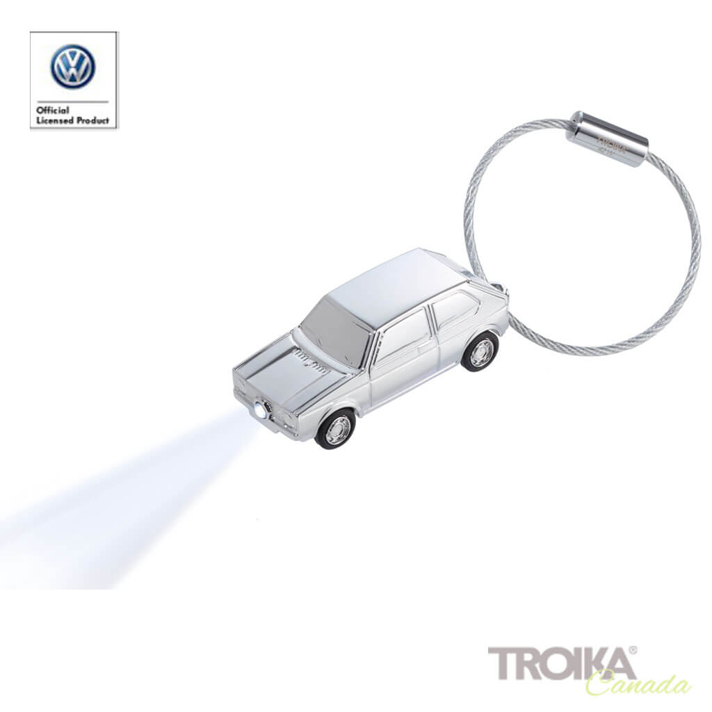 "TROIKA Keychain ""LED LIGHT GOLF GTI 1976"""