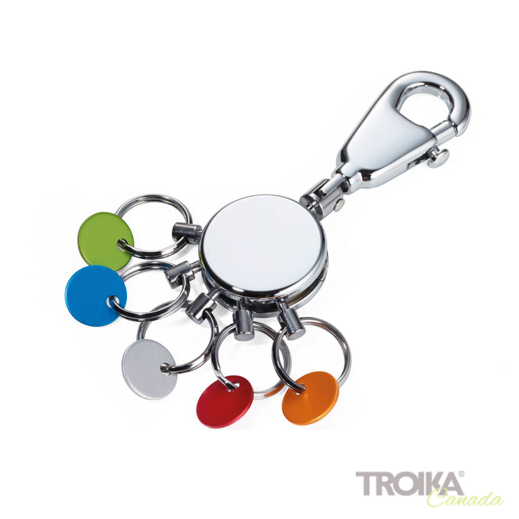 "TROIKA Key organizer ""PATENT COLOUR"" - shiny"