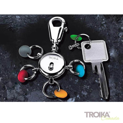 "TROIKA Key organizer ""PATENT COLOUR"""