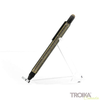 "TROIKA Multitasking ballpoint pen ""CONSTRUCTION"" - gentleman"
