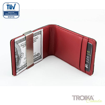 "TROIKA Credit card case ""RED PEPPER CardSaver"""