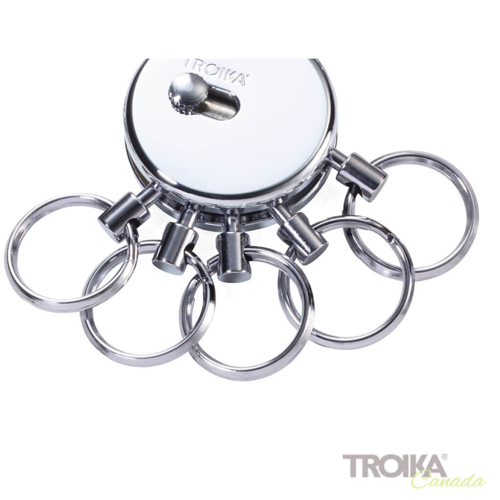 Replacement rings for PATENT keyring shiny, set of 5