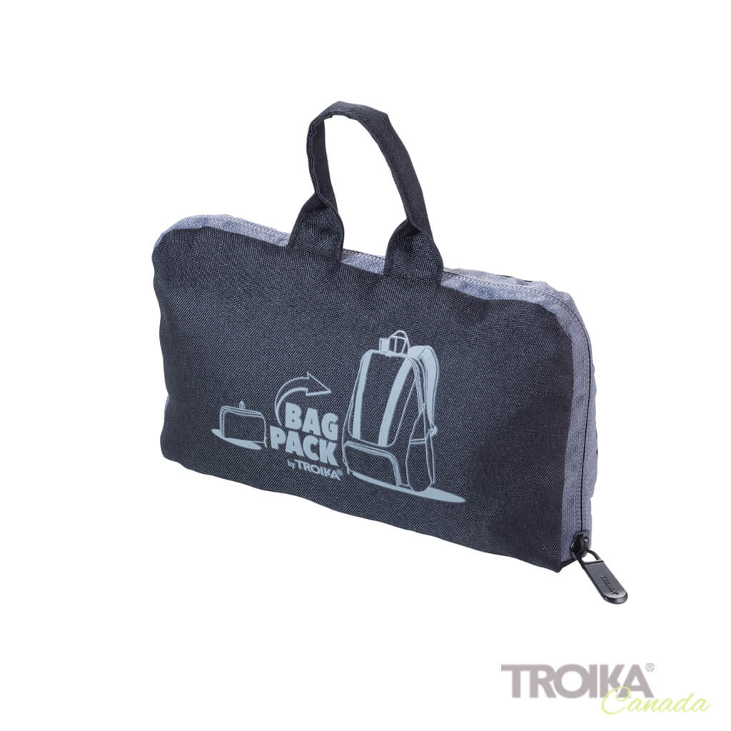"TROIKA Backpack ""BAGPACK"" - BLACK"