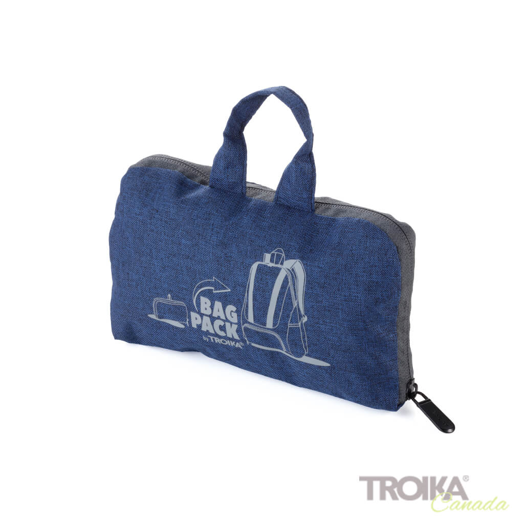 "TROIKA Backpack ""BAGPACK"" - BLUE"