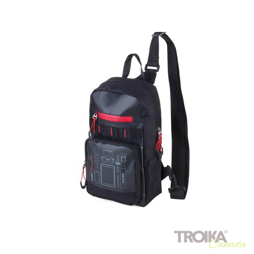 "TROIKA CROSSBODY BACKPACK ""CROSS BAG"""