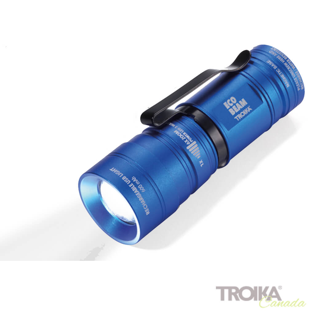 "TROIKA Torch ""ECO BEAM"" - BLUE"