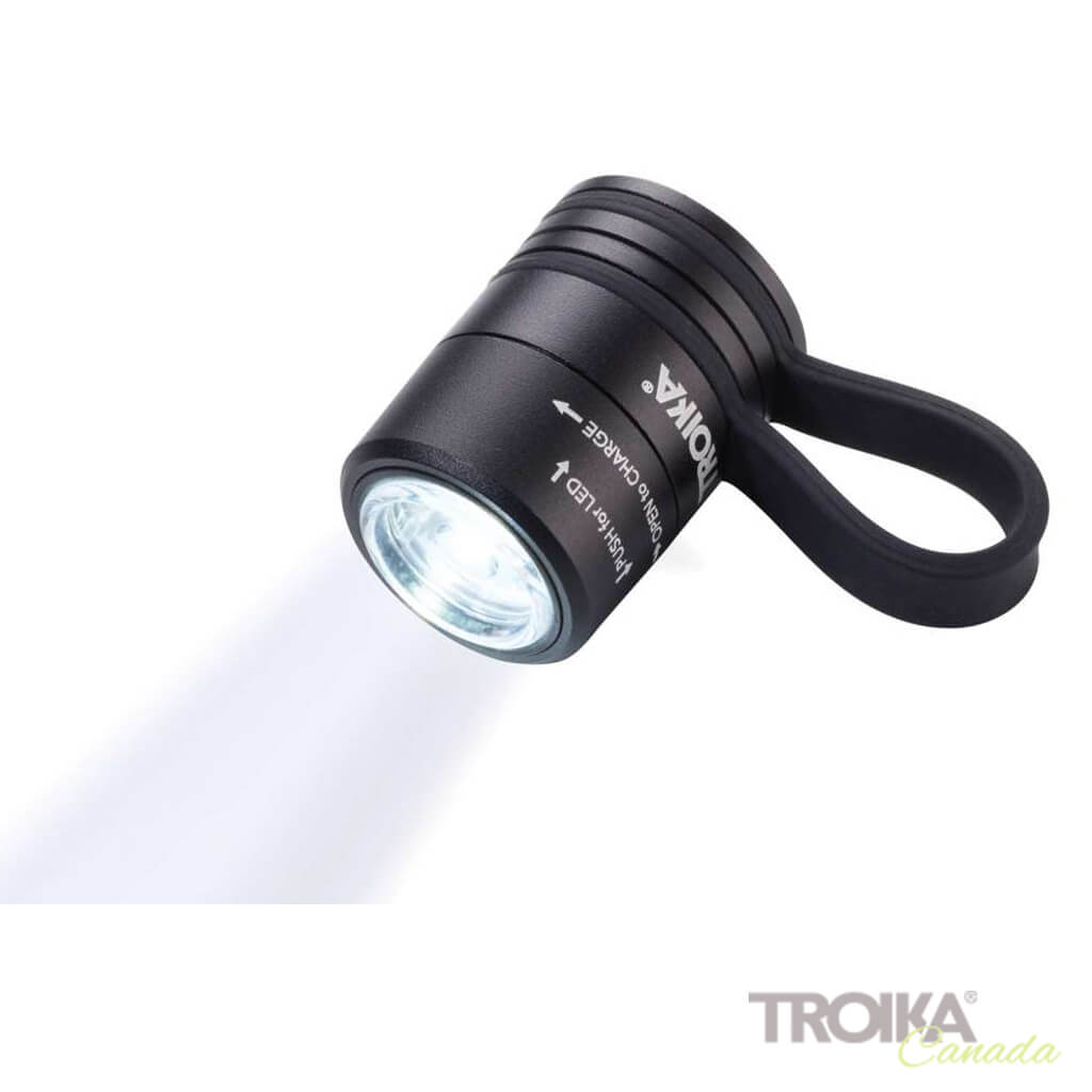 TROIKA Torch Light ECO RUN - black