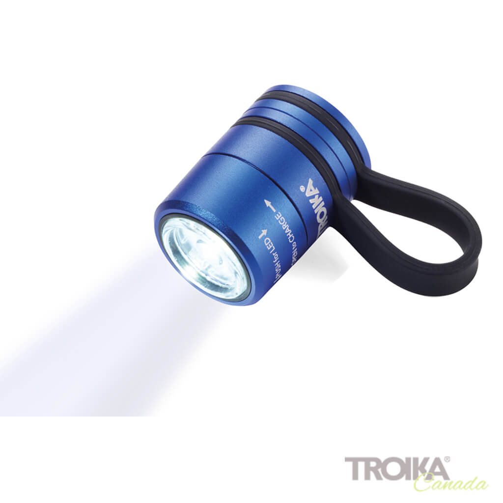 TROIKA Torch Light ECO RUN - blue