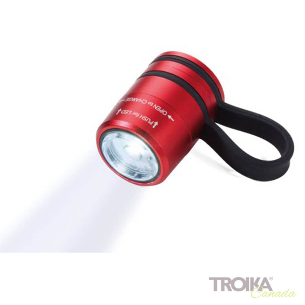 TROIKA Torch Light ECO RUN - red