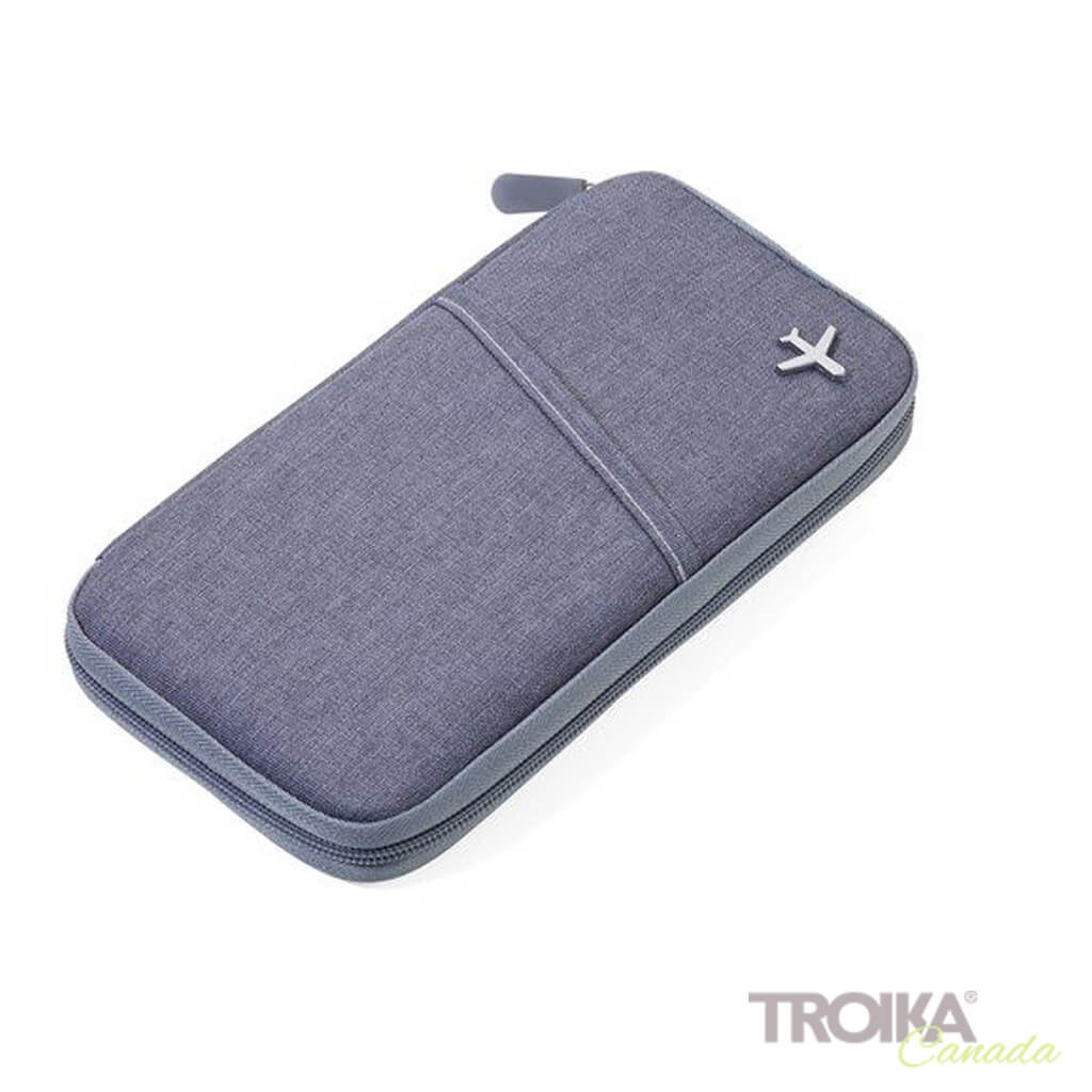 "TROIKA CASE ""SAFE FLIGHT"" - GREY"