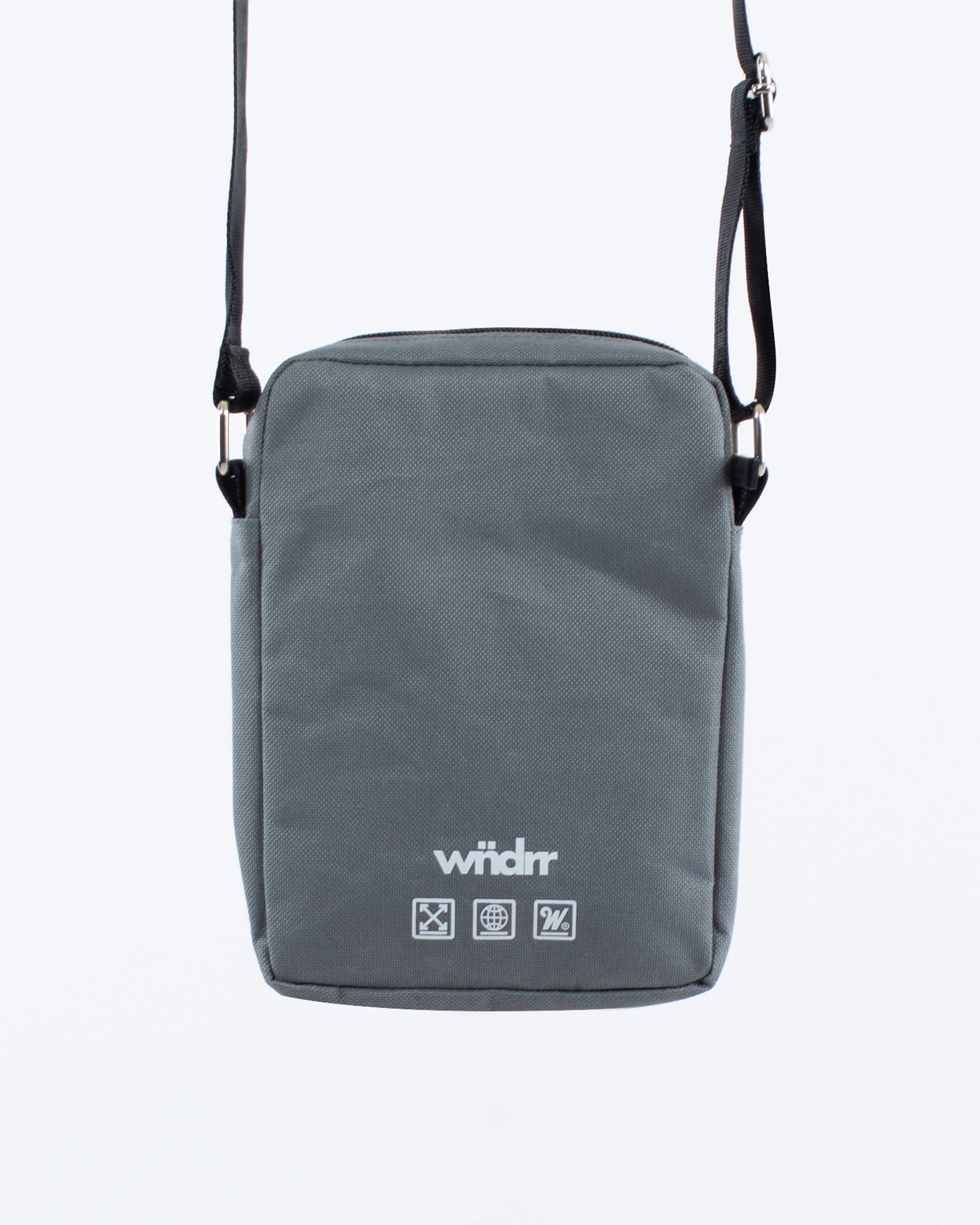 Wndrr Clutch Side Bag - Grey