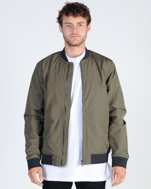 Academy Essential Bomber Jacket - Army