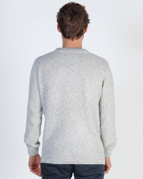 Academy Monkwell Knit Jumper - Grey Combo