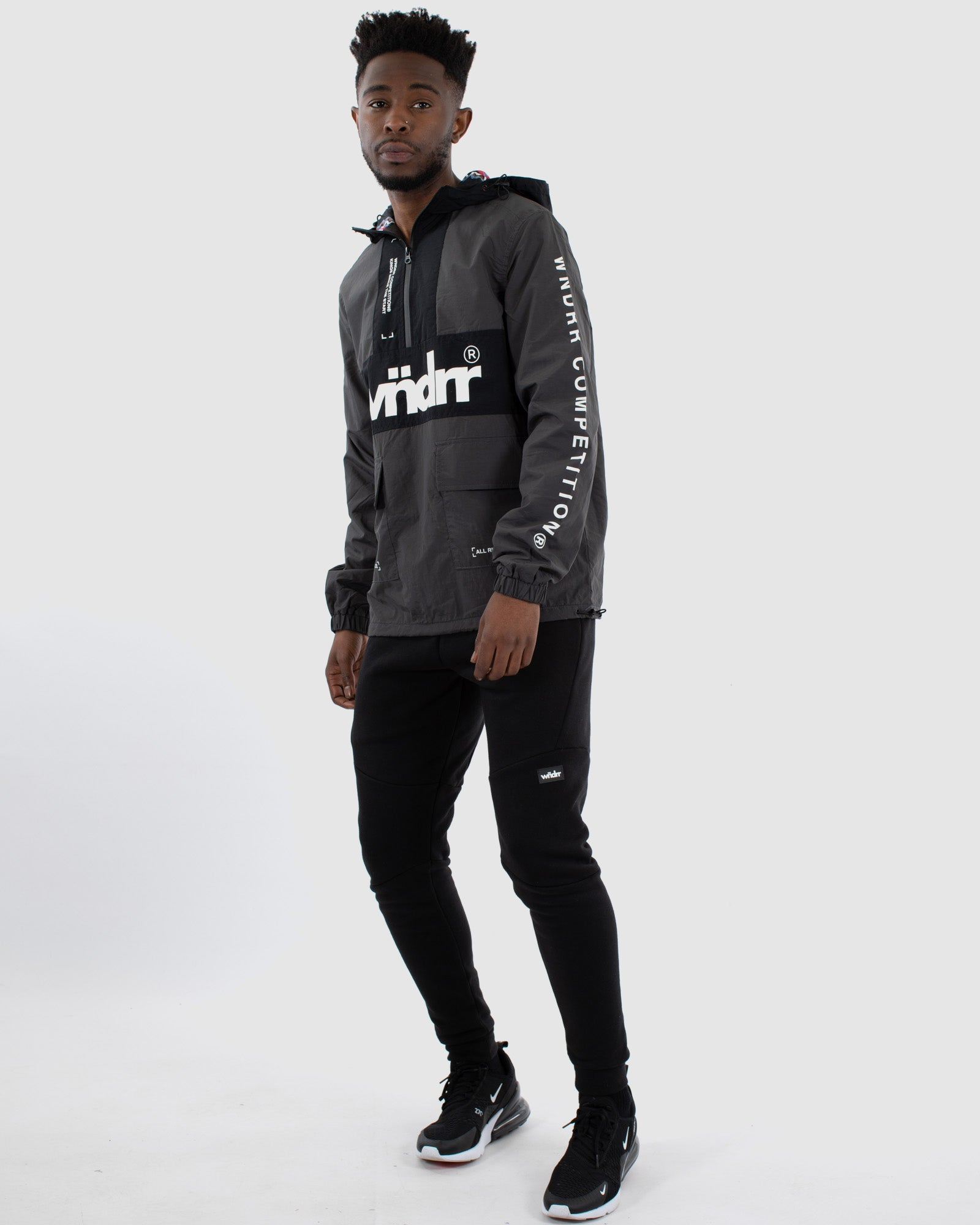 Wndrr Merc Spray Jacket - Black