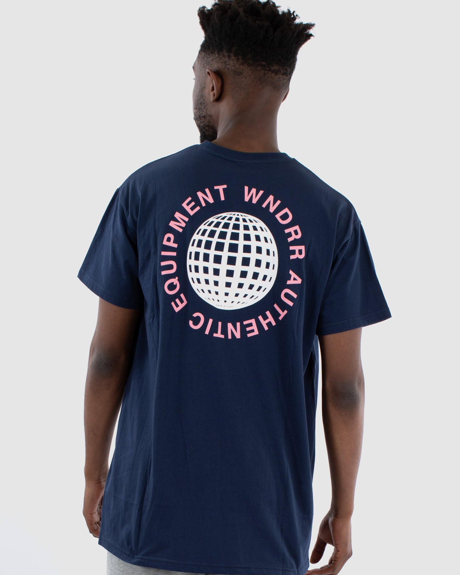 Wndrr Service Custom Fit Tee - Navy