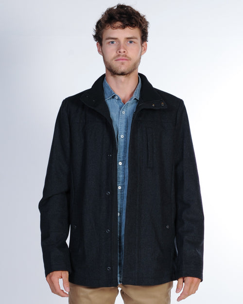 Industrie Knightsbridge Jacket - Charcoal