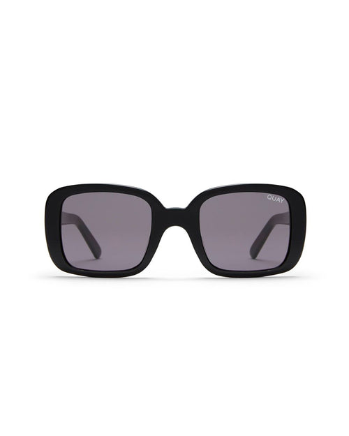 Quay 20S Sunnies - Black/Smoke