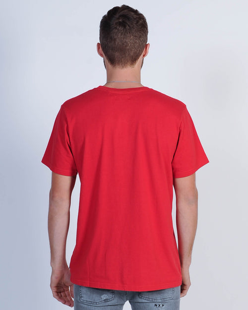Afends Adhd Tee - Uluru Red