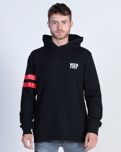 Nena & Pasadena Higher Hood Sweat - Jet Black
