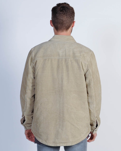 Kiss Chacey Hunter Overshirt Jacket - Sand