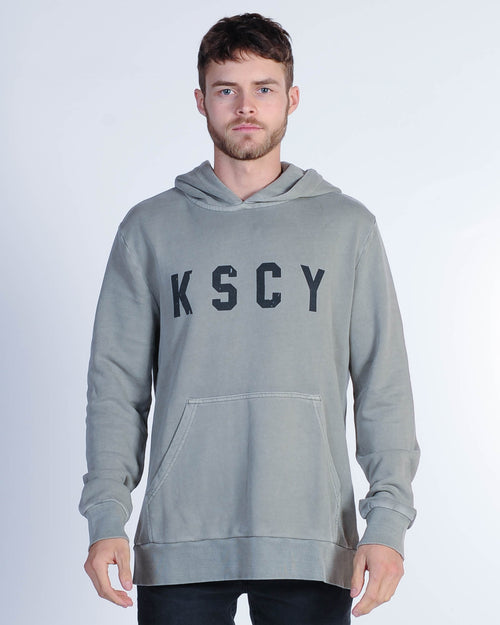Kiss Chacey Unit Hood Sweat - Pigment Khaki
