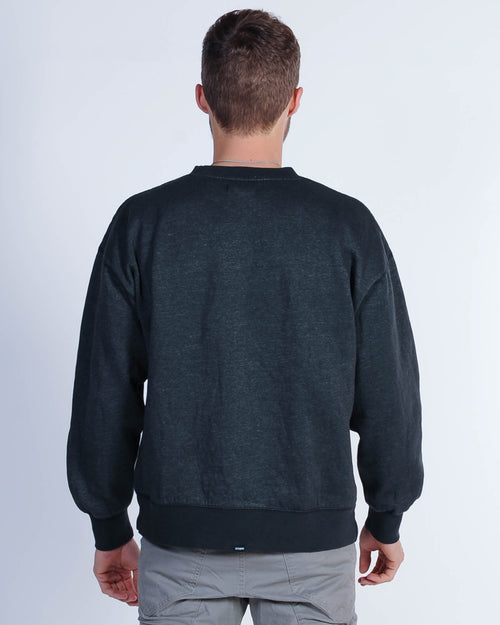 Thrills Minimal Crew Sweat - Heritage Black