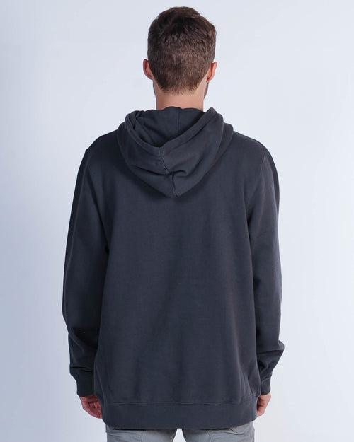 Afends Cf Flame Hood Sweat - Vintage Black