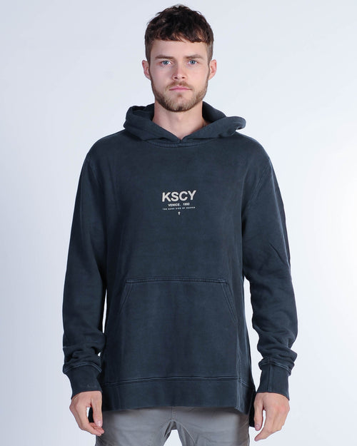 Kiss Chacey Side Hood Sweat - Pigment Black