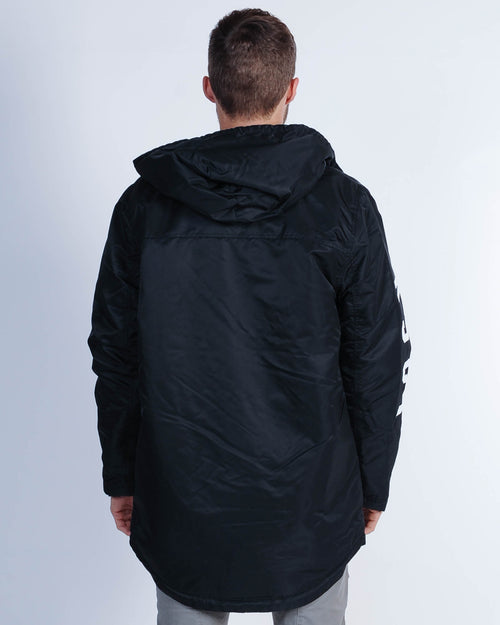 Kiss Chacey Squad Hooded Jacket - Jet Black