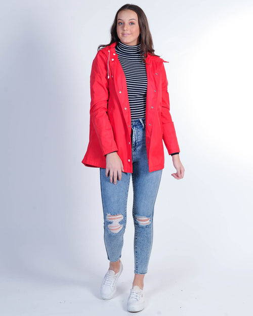 Nude Lucy Seraphin Raincoat - Red