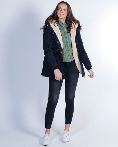 All About Eve Taylor Coat - Navy