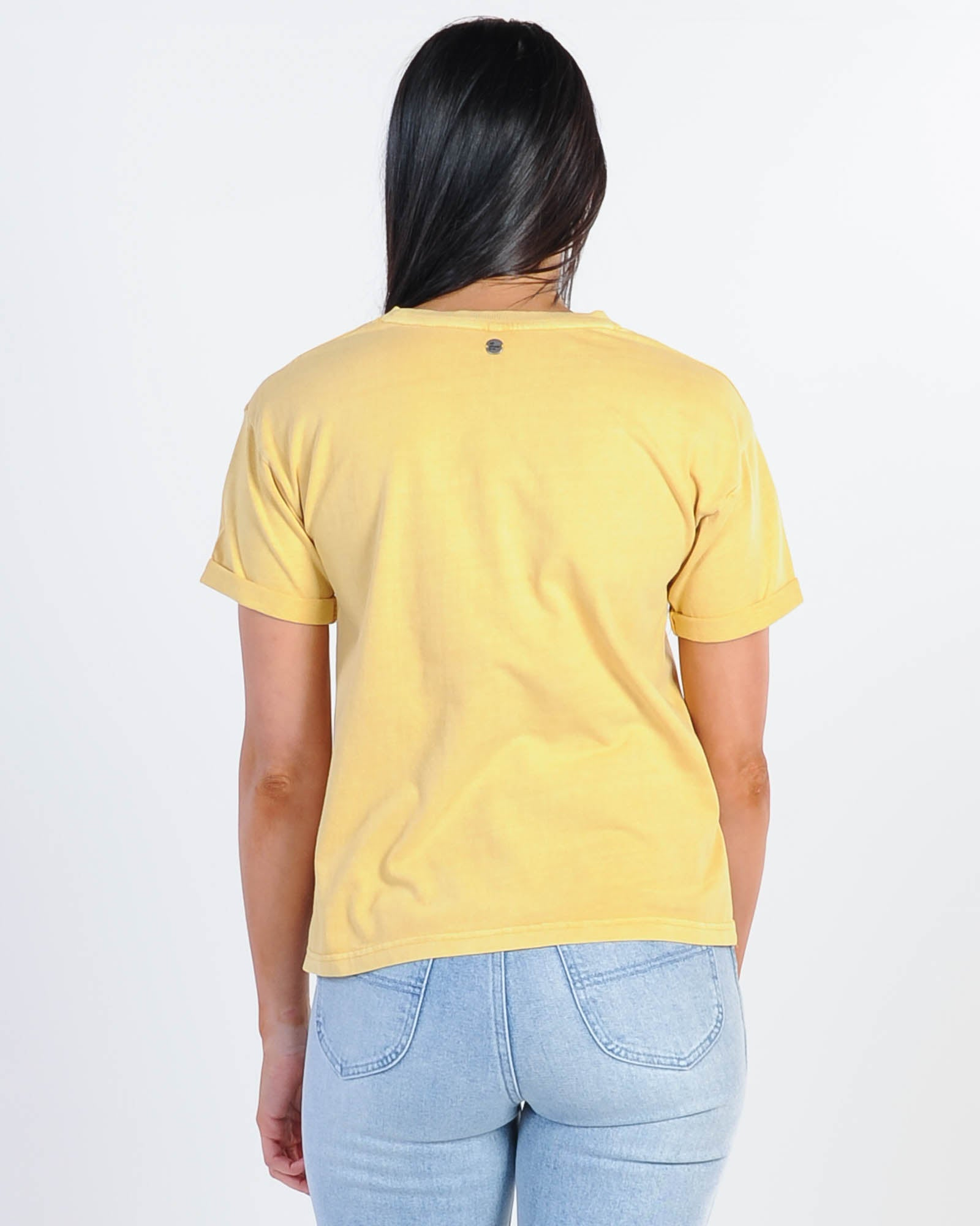 All About Eve Washed Tee - Yellow