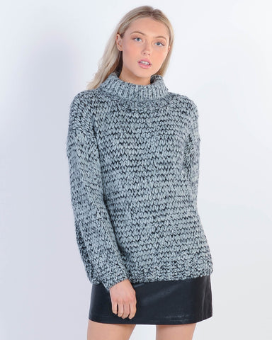 St. Goliath Broadcast Hood Sweat - Grey Marle