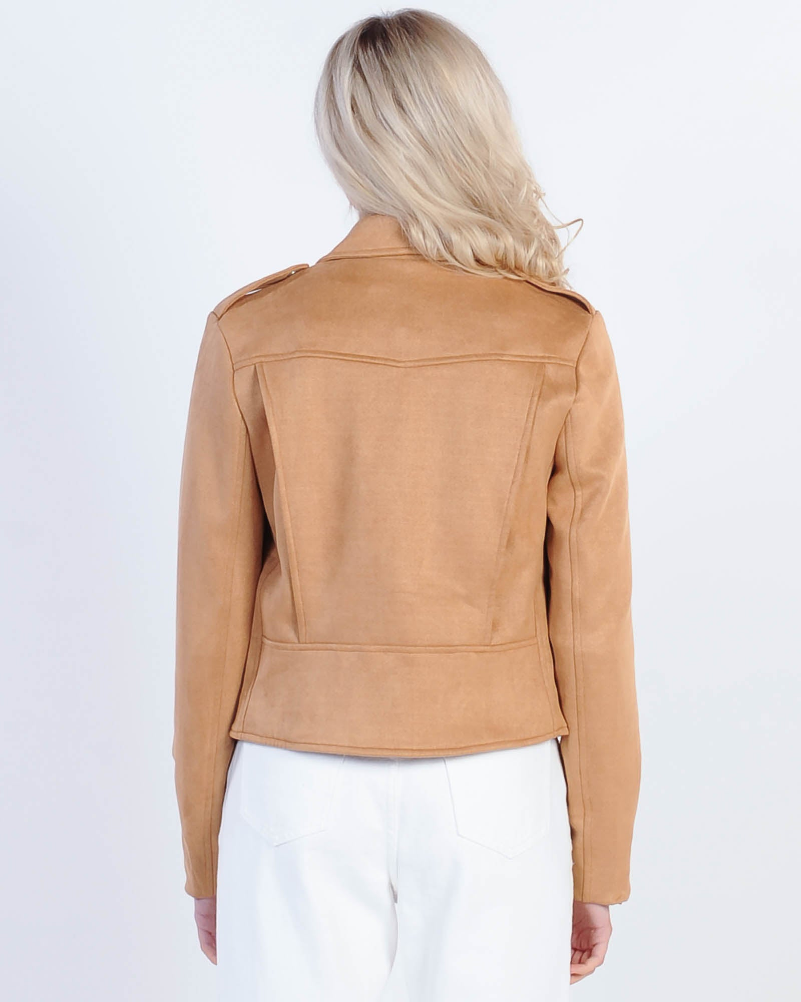 Madison The Label Ace Jacket - Camel